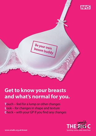 Breast cancer - The 'small c' Campaign - UCLH Cancer Collaborative