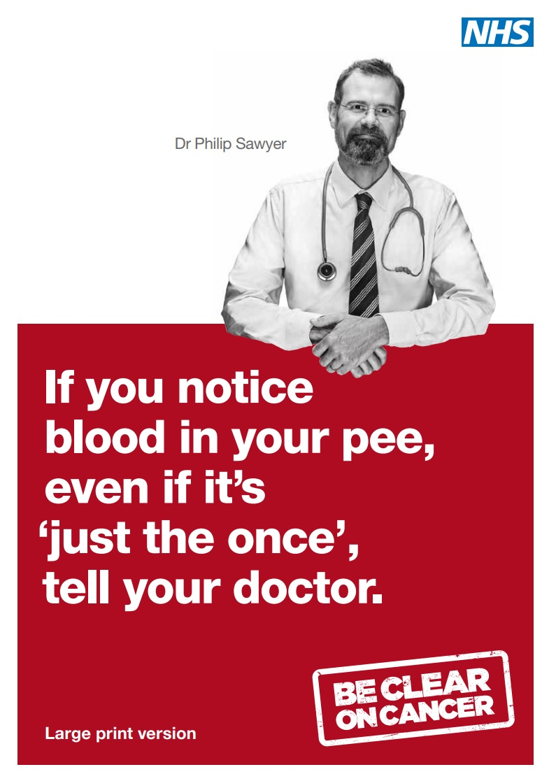 Be Clear on Cancer: Bladder and Kidney Awareness Campaign image